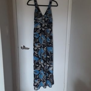 EUC floral Urban Outfitters maxi dress